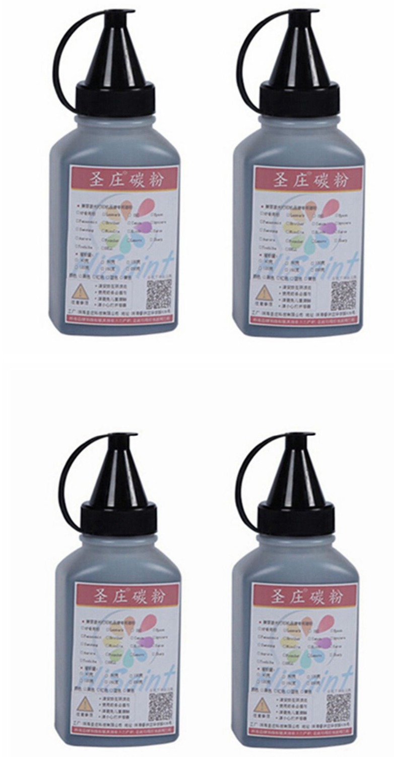 ФОТО 2017 Hot For HP C7115X 80G 4Bottle Toner Powder  For HP LaserJet 1000/1005/1200/1220/3300/3310/3320/3380 Free Shipping Hot Sale