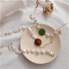 1PC-Korea-New-Imitation-Pearl-Bracelets-For-Women-Girls-Geometric-Round-Acrylic-Bracelet-Hot-Sale-Jewelry