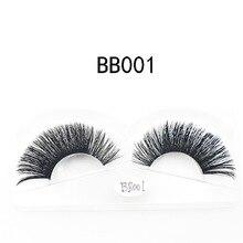3D Mink hair false eyelashes natural long winged messy eye lashes cilios faux cils maquillaje fake eyelash 1 set = pair