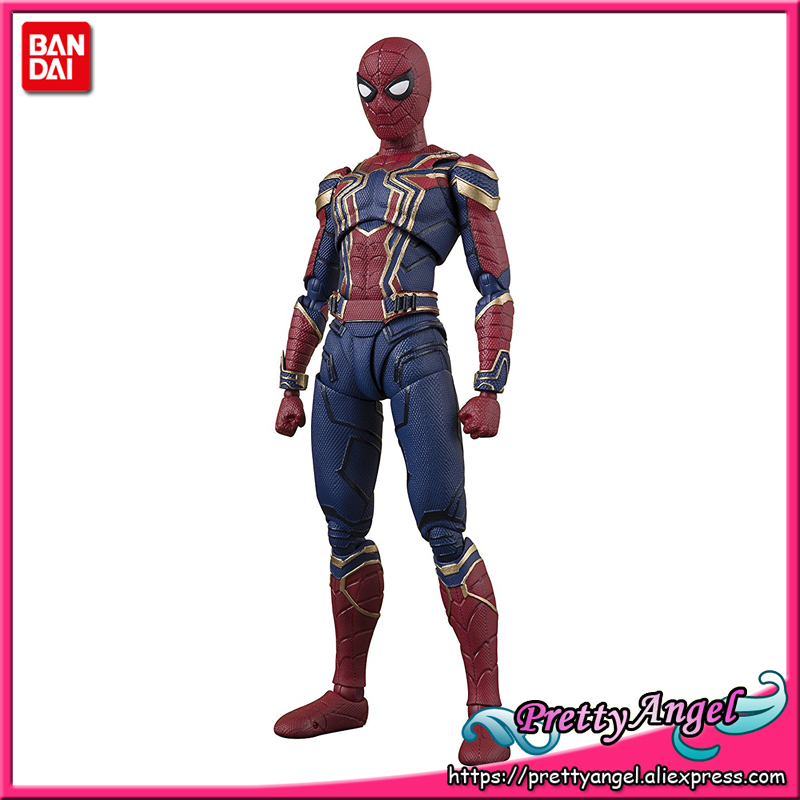купить PrettyAngel - Genuine Bandai Tamashii Nations S.H. Figuarts Avengers: Infinity War Iron Spider Action Figure по цене 6443.64 рублей