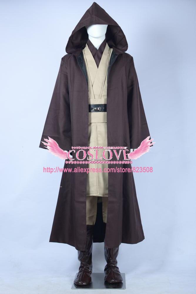 2017 Κοστούμια Star Wars Κοστούμια Jedi Master Obi - Καρναβάλι κοστούμια