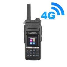4g lte android walkie talkie 4g hd700 telefone de rede rádio intercomunicador áspero telefone inteligente real ptt rádio