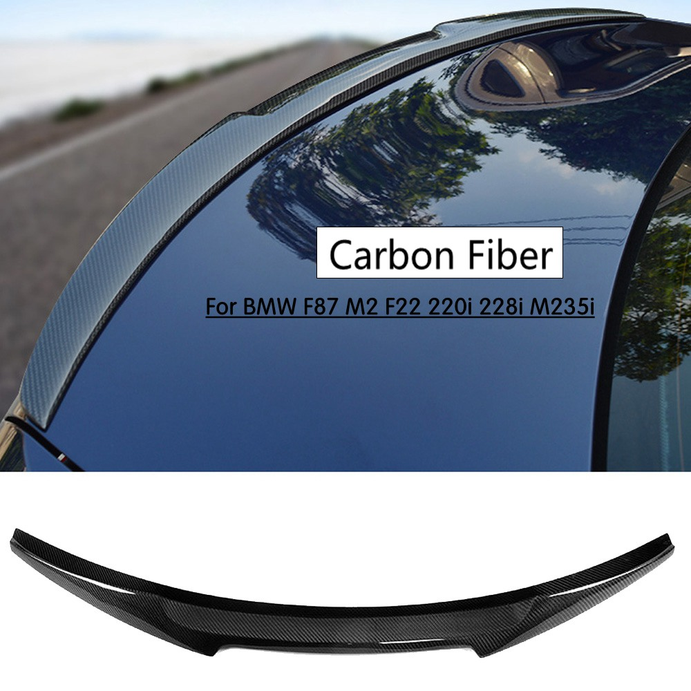 F87 M2 Rear Trunk Wing Spoiler for BMW F87 F22 220i 228i 230i M235i 2014-2017 carbon fiber M4 Style Rear Lip Wing Boot SpoilerF87 M2 Rear Trunk Wing Spoiler for BMW F87 F22 220i 228i 230i M235i 2014-2017 carbon fiber M4 Style Rear Lip Wing Boot Spoiler