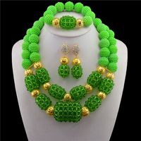 Luxury Austrian Crystal Gold color Jewelry Sets for Women Statement Necklace Earrings African Beads Jewelry Sets TL391