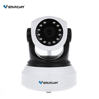 VStarcam HD Indoor Wireless 720P Security IP Camera Surveillance WiFi CCTV Camera Pan/Tilt Night Vision Support 128G SD Card