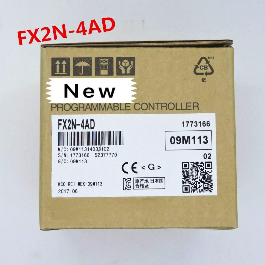 1 jaar garantie Nieuwe originele FX2N 2AD FX2D 2DA FX2D 4AD FX2N 4DA FX2N 4AD TC-in Kabelhaspel van Consumentenelektronica op  Groep 3