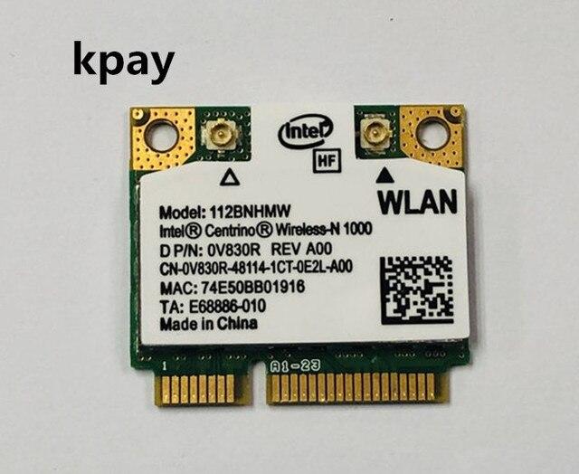 112 112BNHMW Intel WiFi קישור N1000 300 M מיני pcie כרטיס אלחוטי נייד עבור HP 572520 001