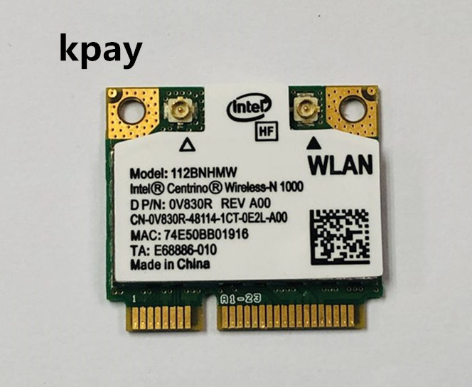 112BNHMW Intel WiFi Link N1000 300M mini pcie laptop wireless card for HP 572520 001-in Network Cards from Computer & Office