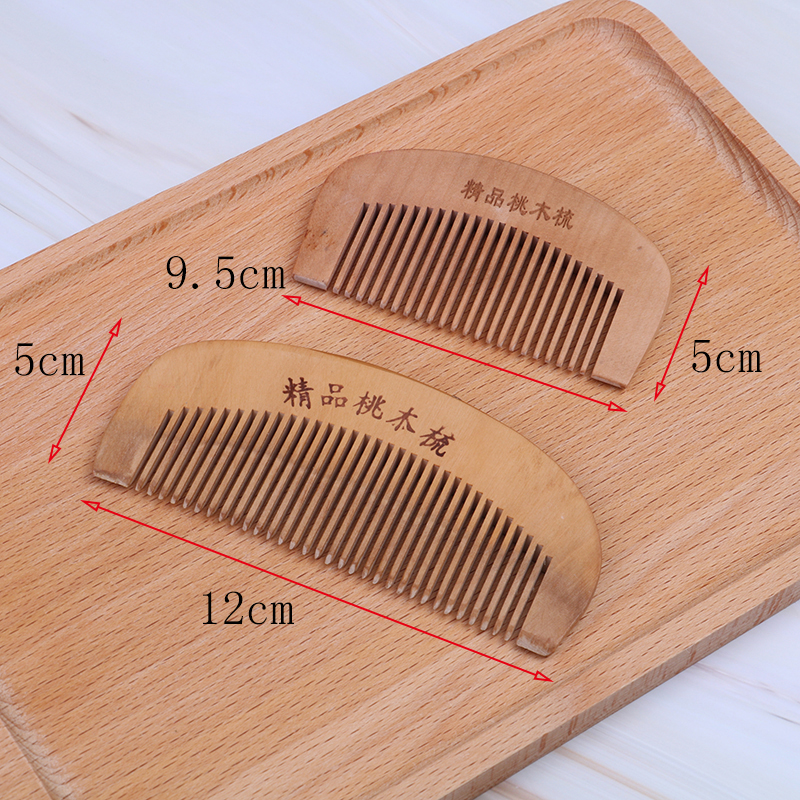Newest 1 PCS Pocket Wooden Comb Super Wood Combs No Static Beard Comb Hair Styling Tool