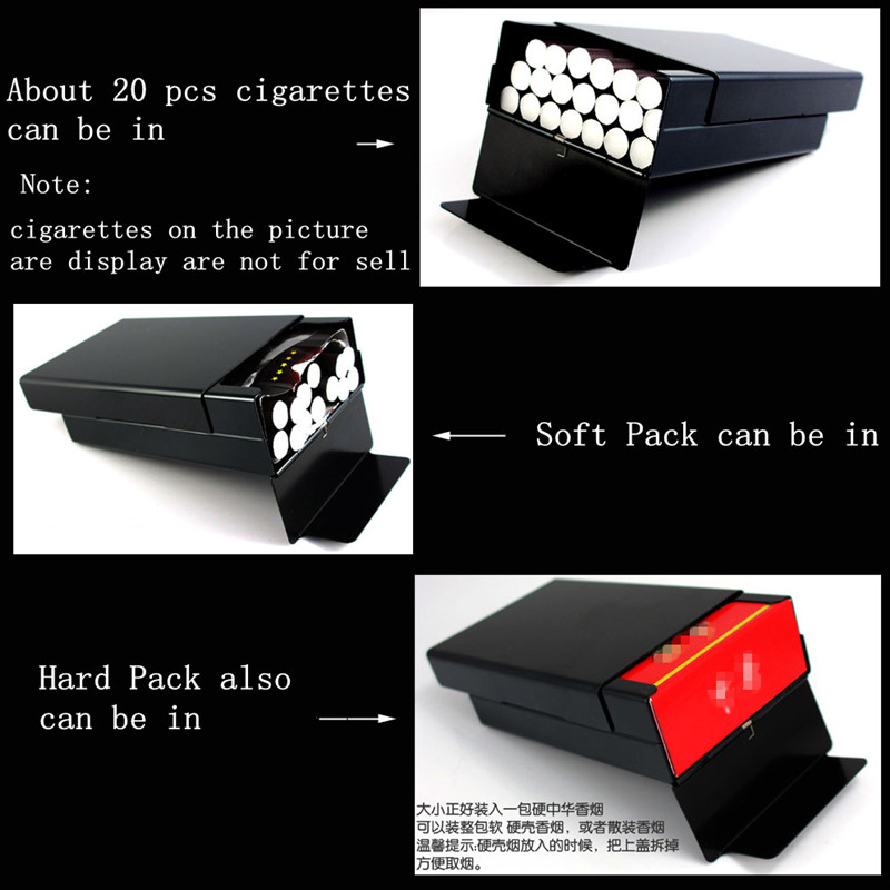 Gepersonaliseerde ultra dunne automatische sigarettenkoker koning - Home opslag en organisatie - Foto 4
