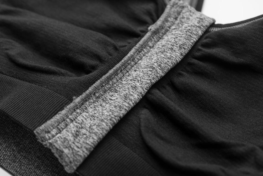B.BANG 17 New Women Zipper Bra Push Up Crop Top Seamless Sexy Shakeproof Underwear M-XXXL Big Size Wholesale Brassiere 35