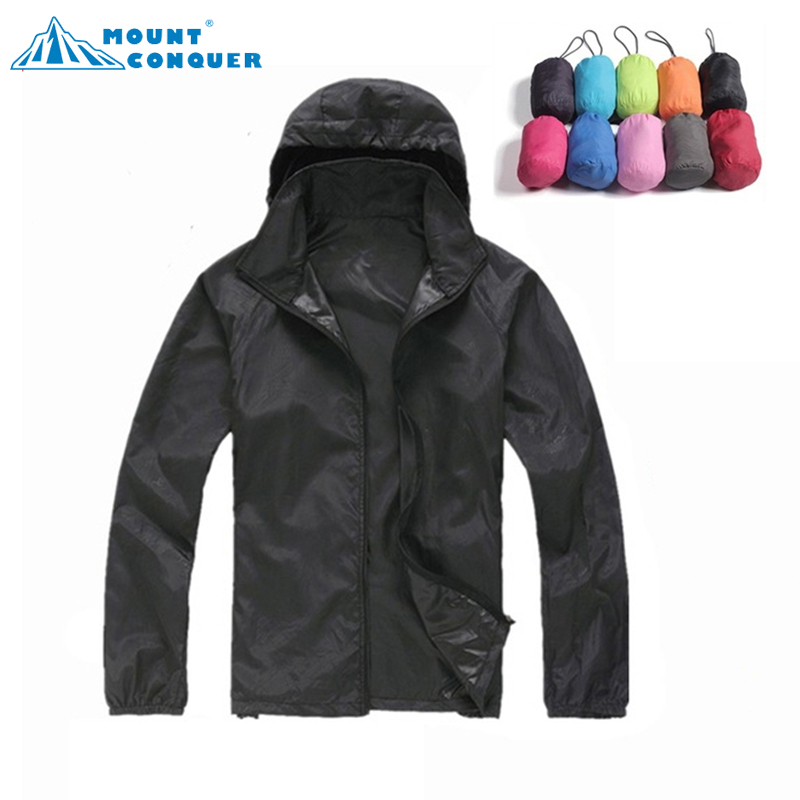 Men Women Skin Male Female Windbreaker Quick Dry Hiking Camping Jackets 2017 New Waterproof Sun-Protective Outdoor Sports Coats стоимость