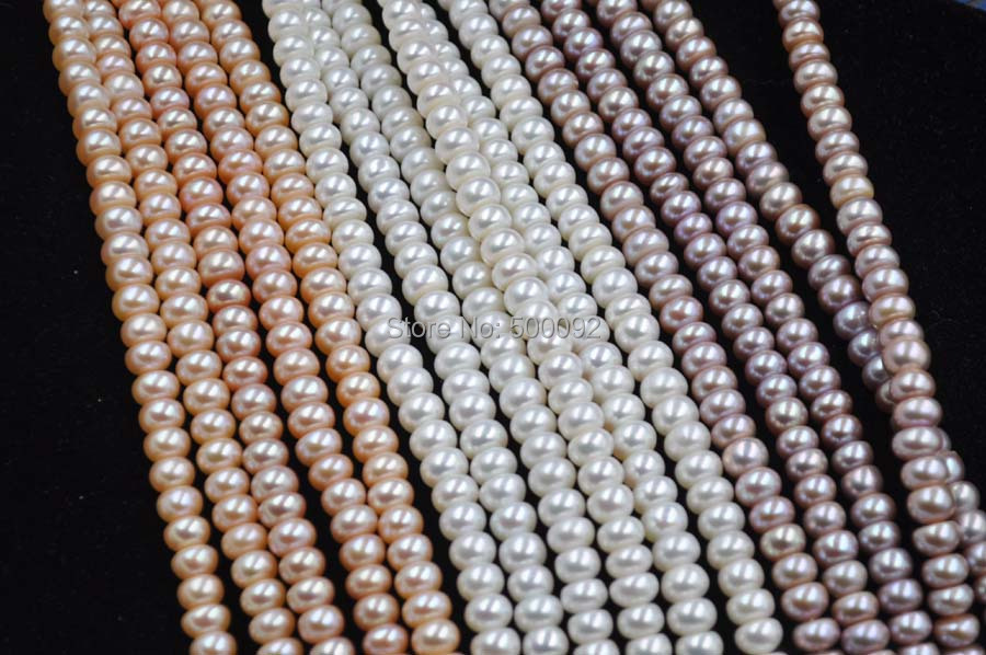 AA++ wholesale 5 strands 8mm bread freshwater cultured pearl AA++ wholesale 5 strands 8mm bread freshwater cultured pearl