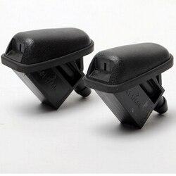 2 piezas en forma de ventilador de agua para Ford Focus 2 MK2 Focus 3 MK3 ST RS hatchback sedán La Refires limpiador de chorro de aerosol especial