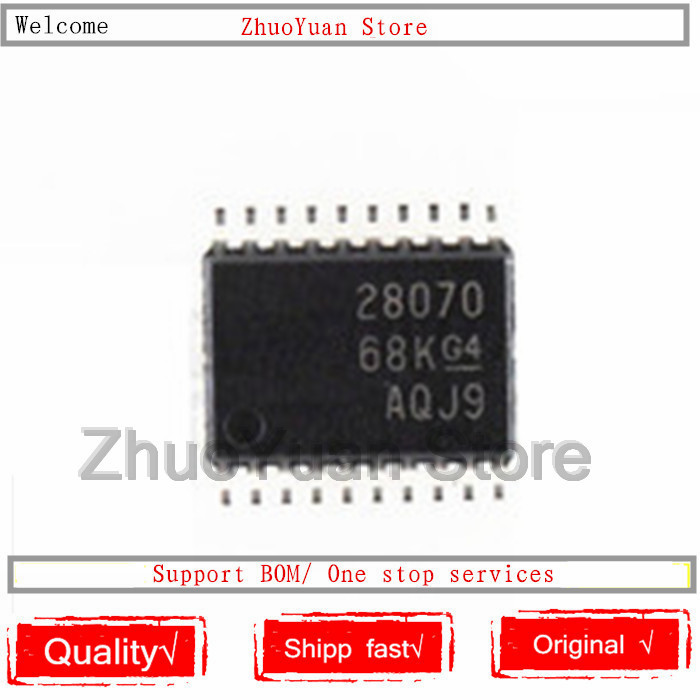 1PCS/lot New Original UCC28070PWR UCC28070 28070 TSSOP-20 UCC28070PW IC Chip