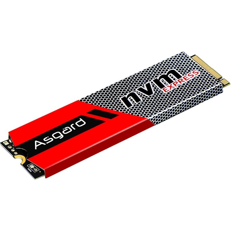 Top verkauf Asgard 3D NAND 256 GB 512 GB 1 TB M.2 NVMe pcie SSD Interne Festplatte für Laptop desktop hohe leistung PCIe NVMe