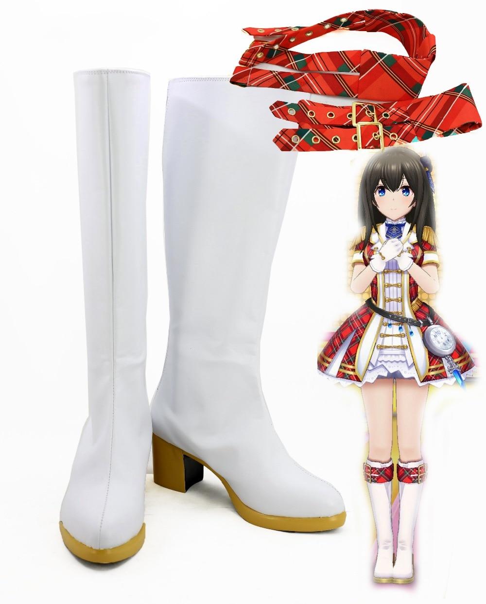 Cosplay Costume  BANDAI NAMCO Entertainment Shibuya Rin cosplay boots cos shoes