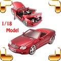 Новый Год Подарок Maisto SL55 AMG 1/18 Модель Автомобиля Большой Pro Коллекция Автомобилей Имитационная Модель Масштаб Игрушки Прохладный Подарок Украшения