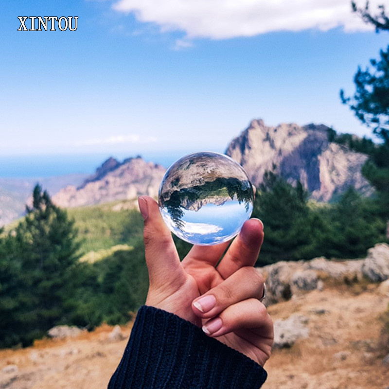 XINTOU 60 mm Crystal Photography Ball Travel photography Enlarge Landscape Magic Juggling Ball Christmas Gift For Photographer