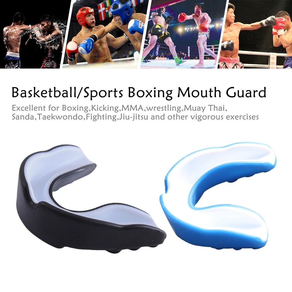 Adult Sanda Boxing Basketball Teeth Guard Mouthguard Protector Sports Braces TOP