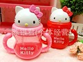 240ML hello kitty cute baby straw kettle handle cup carton child water bottle  kids water cup training water kettle