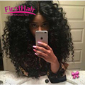 7A Malaysian Deep Wave With Closure 3 Bundles Deep Curly Malaysian Hair With Closure Queen Hair Products With Closure Bundle