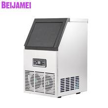 BEIJAMEI Новая электрическая машина для производства льда 40 кг/50 кг/60 кг в день коммерческий производитель кубиков льда для продажи