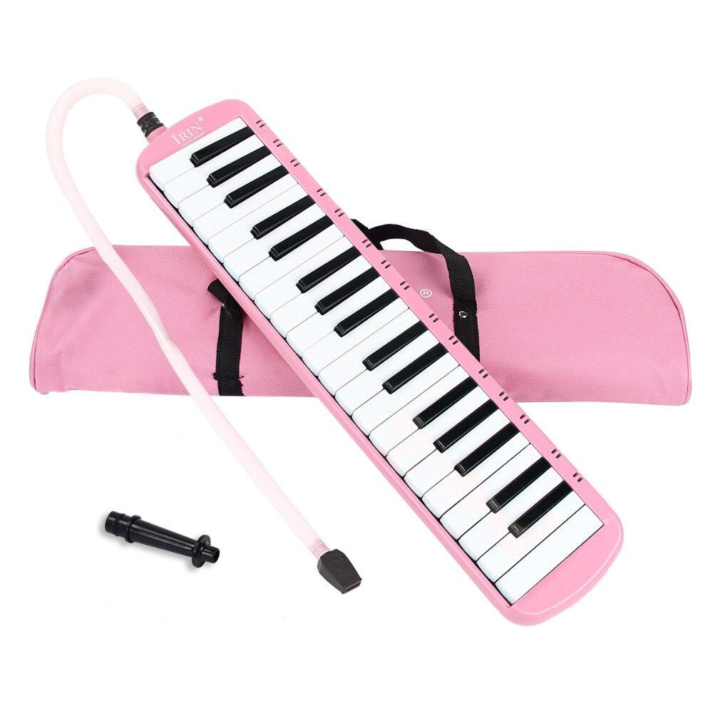 37/32 Tasti Di Pianoforte Portatile Melodica Con Borsa Per Il Trasporto Dei Bambini/adulti Abs Soffiaggio Tubi Di Pianoforte Per I Principianti Musicale Ventole