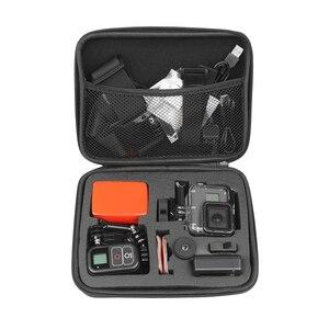 Image 5 - SHOOT M/S Size EVA Portable Case for GoPro Hero 9 8 7 5 Session Sjcam Sj4000 for Xiaomi Yi 4K Action Camera Collection Box Mount