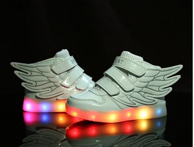 2016 enfants de lumi re LED de charge chaussure... Y4NOduu