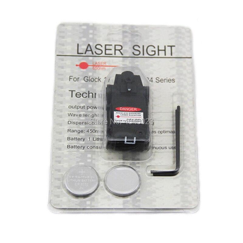 Tactical Glock Pistol Red Laser Mini Red Dot Laser For Glock 17 18C 19 22 23 25 26 27 28 31 32 33 34 35 37 Series-5