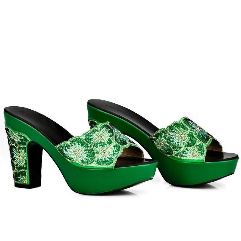 Offene Farbe Damen Strass gold Verziert Spitze Schuhe Party Sandalen purpurrot Ankunft Hochzeit Schwarzes blau Neue Mit Grüne silber rot grün Frau xIqddY