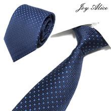Joy alice Brand Cortbatas 2018 New Silk Neck Ties For Men Wedding Tie 8cm Slim Neckties Mens Necktie Gravata Cravate