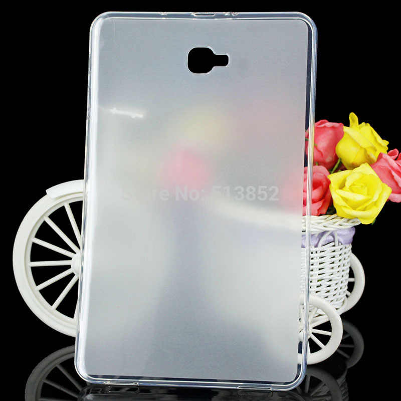 "Case for Samsung Galaxy Tab A (10.1) T580 T585/galaxy tab A6 10.1""High Quality Pudding Anti Skid Soft Silicone TPU Protection"