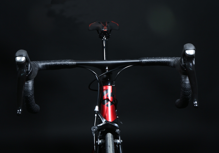 Bicycle Handlebar Carbon Fiber Lightweight Bicycle Accessories Road Parts Integrated Black Handlebar Made of carbon fiber