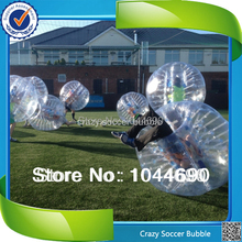 New, New design top quality 0.8mm PVC human bubble football ,inflatable ball suit