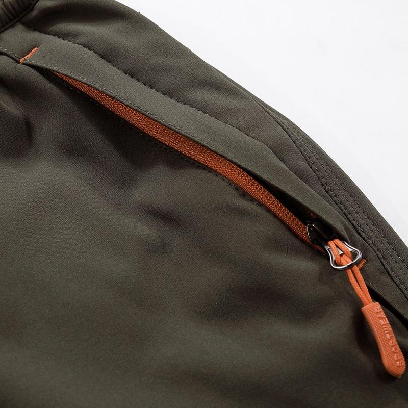 Hommes Charge Pantalon Style Saisir Sweat Pantalon Chaud Coupe-Vent - Vêtements pour hommes - Photo 5
