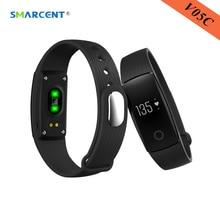 Smarcent V05C Smart Band сердечного ритма сна Monitores смарт-браслет шагомер Фитнес трекер анти-потерянный группа для IOS Android ID107