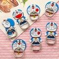 Soporte Universal perezoso Un cascabeleo Doraemon lindo de dibujos animados hebilla anillo mujer anillo de soporte para teléfono móvil