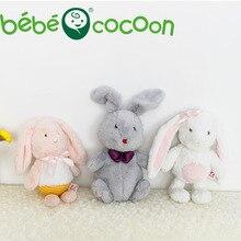 Bebecocoon 2017 fullfy Банни животных мягкие плюшевые игрушки Спящая Mate мягкие и плюшевые животные 32 см/36 см дети Игрушки для девочек Подарки(China (Mainland))