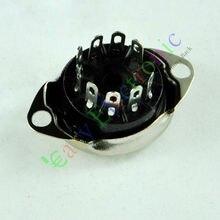 Sprzedaż hurtowa i detaliczna 20 sztuk 9 PIN próżniowe gniazdo SAVER do montażu na FR 12AX7 12AU7 ECC82 ECC83 radio części darmowa wysyłka