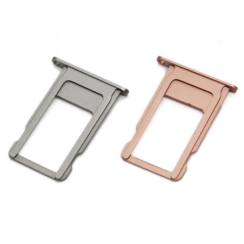 newest c0ae5 d0b9f US $1.01 |For Nano SIM Card Tray Holder For Apple iPhone 6 6S Plus Black  Silver Gold Rose Gold Sim Tray Holder Repair Parts-in SIM Card Adapters  from ...