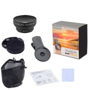 Image 5 - APEXEL เลนส์กล้อง Super 0.45x มุมกว้าง & 12.5x มาโครเลนส์ 2 ใน 1 เลนส์ HD สำหรับ iPhone x 7 8 Samsung s9 s8 xiaomi