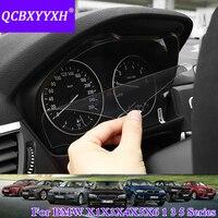 Qcbxyyxh 자동차 스타일링 자동차 대시 보드 페인트 보호 pet 필름 bmw x1 x3 x4 x5 x6 1/3/5 시리즈 빛 전송 scratchproof