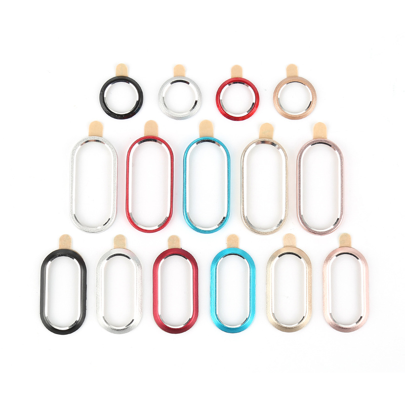 For IPhone X Camera Screen Protector Case Ring Cover For IPhone 7 8 Plus Rear Back Camera Protective Lens Case Ring Cover Film
