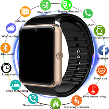 Hot Bluetooth Smart Watch Men Women GT08 With Touch Screen Big Battery Support TF Sim Card Camera For IOS iPhone Android Phone