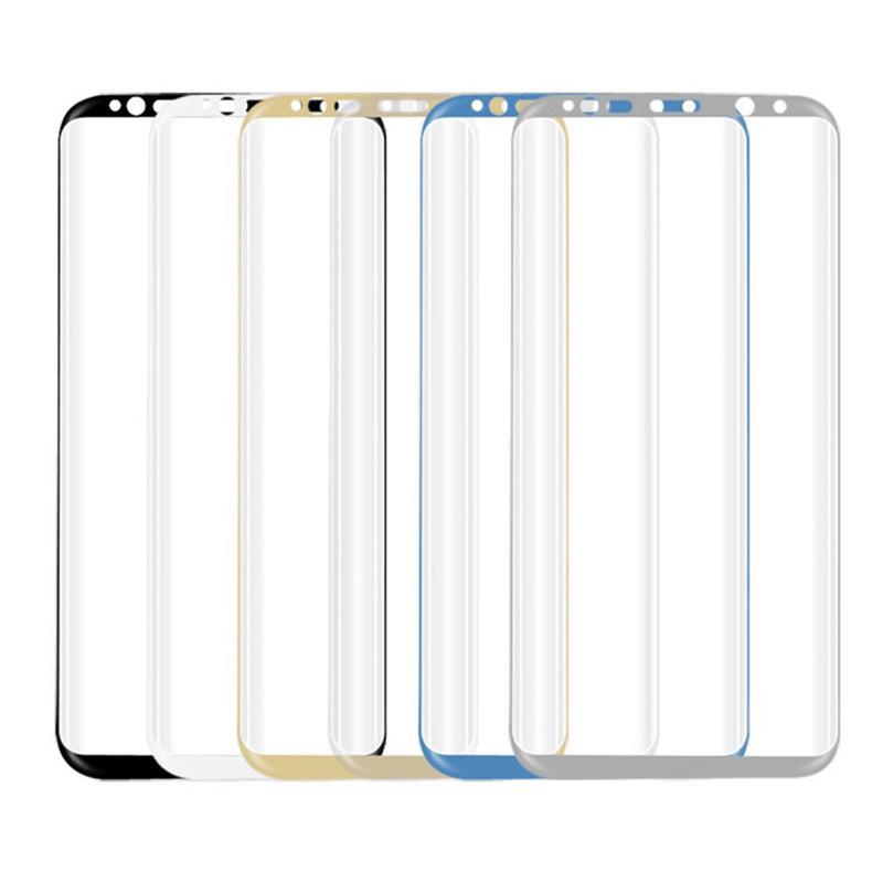 В 3D полное покрытие закаленное стекло для samsung Galaxy Примечание 8 экран протектор для галактики С8 С8 плюс защитный плёнки
