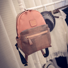 Новое поступление 2017 года Повседневная винтажная элегантный дизайн в клетку для школы женские серпантин рюкзаки для девочек; Новинка Путешествия Рюкзак LT88