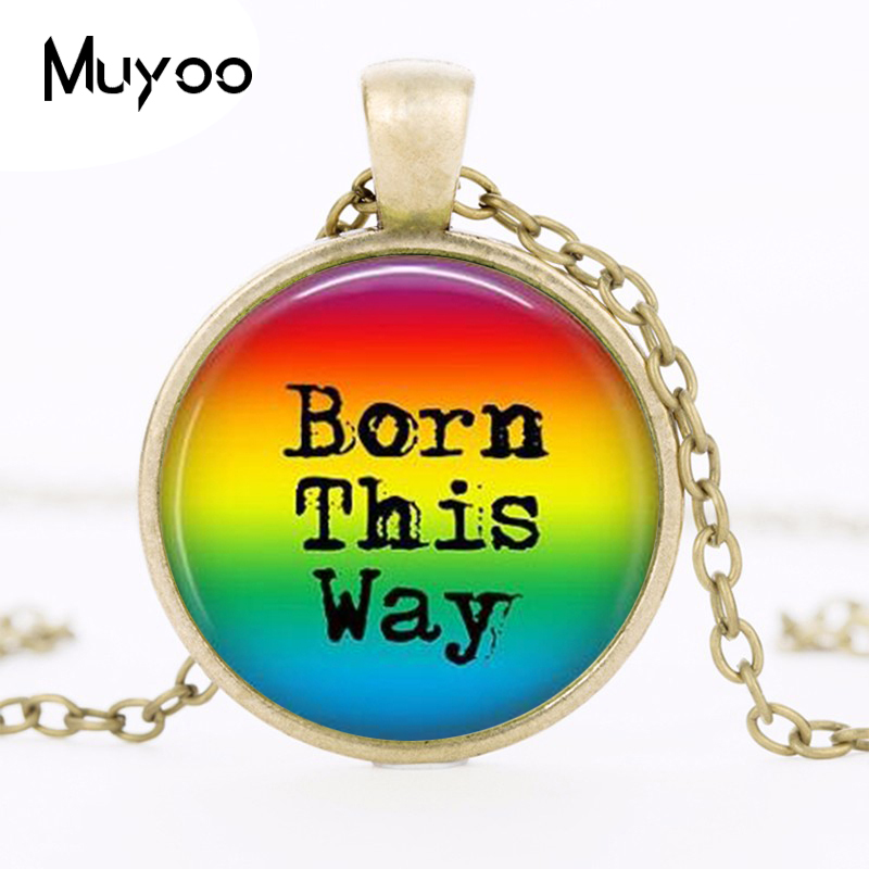 Rainbow Pride - This Way Rainbow - Transgender - Lgbt Pride - Gay Pride - Acceptance - Coming Out Jewelry HZ1