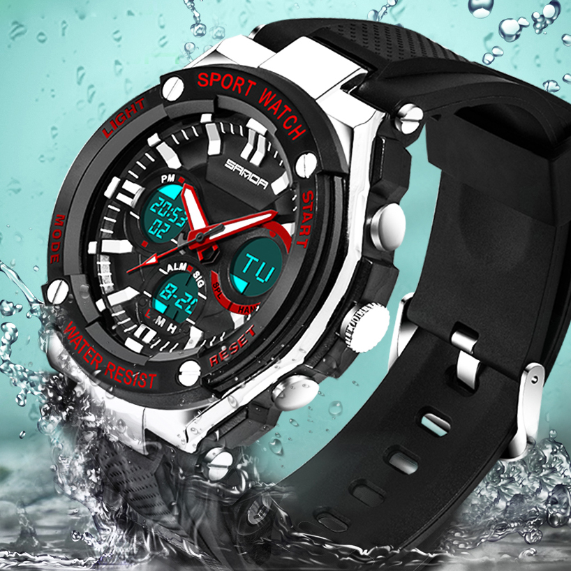 Waterproof Mens Sports Watches Relogio Masculino 2017 Hot Men Silicone Sport Watch Reloj Shockproof Electronic Wristwatches 733 fashion waterproof mens sports watches relogio masculino 2016 men silicone sport watch shockproof electronic wristwatch
